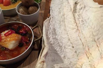 Førsteklasses, linefanget Lofotskrei utgjør hovedingrediensen hos XL Diner